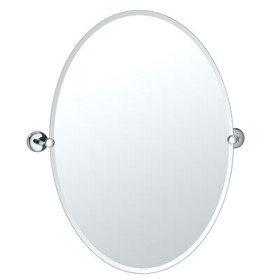 Vogue Large Oval Mirror by Gatco