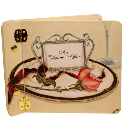 Wedding Table 4 Two Rose Mini Wedding Book Photo Album by Lexington Studios