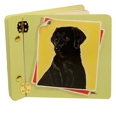 Animals Black Lab Mini Book Photo Album by Lexington Studios
