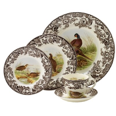Woodland 5 Piece Place Setting by Spode