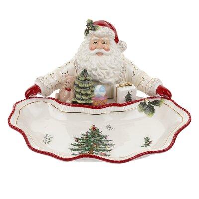 Christmas Tree Figural Santa Dish by Spode