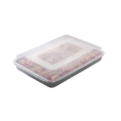 Hi-Side Sheet Cake Baking Pan with Lid by Nordic Ware