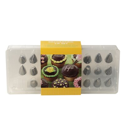 27 Piece Decorating Tip Set by Nordic Ware