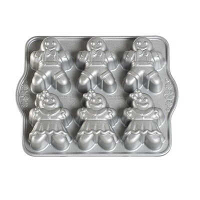 Gingerbread Kids Cakelet Pan by Nordic Ware
