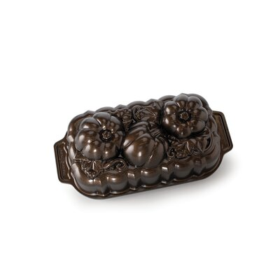 Fall Harvest Series Botanical Pumpkin Loaf by Nordic Ware