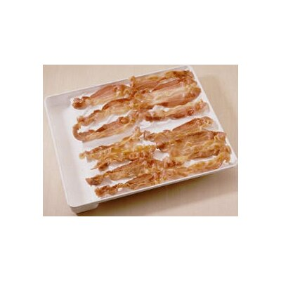 "Nordic Ware Microwave 12"" Bacon Tray and  Food Defroster"