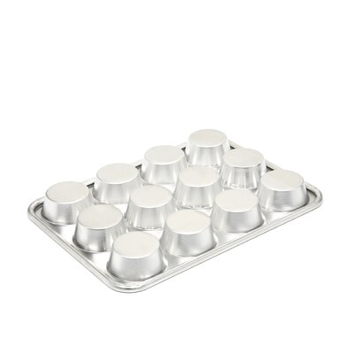 Nordic Ware Natural Commercial 12 Cup Muffin Pan