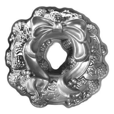 Seasonal Holiday Wreath Bundt Cake Pan by Nordic Ware