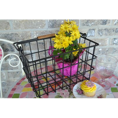 Square Wire Basket by J & J Wire