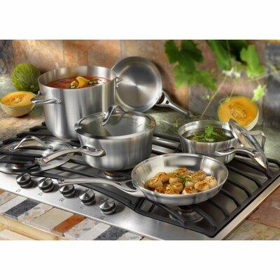 Calphalon Contemporary Stainless Steel 8 Piece Cookware Set
