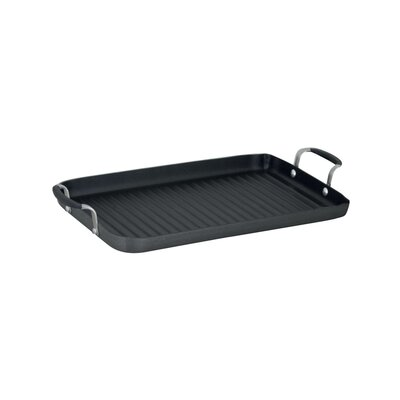"Calphalon Simply Nonstick 21"" x 11"" Double Grill Pan"