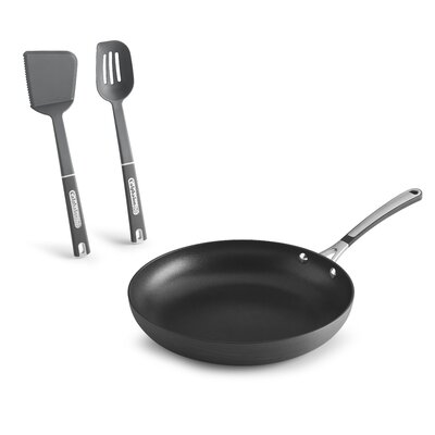 Simply Non-Stick Frying Pan with Utensils by Calphalon