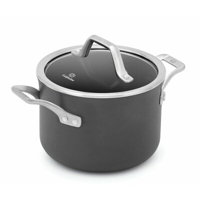 Signature™ 4-qt. Nonstick Soup Pot with Cover by Calphalon