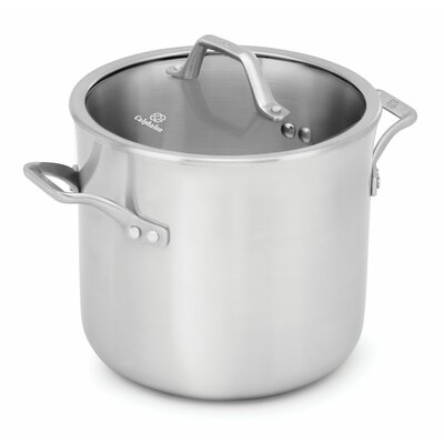 Signature™ 8-qt.Stock Pot with Lid by Calphalon