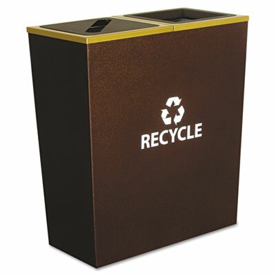 Ex-Cell Metro 36-Gal Multi Compartment Recycling Bin