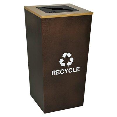 Ex-Cell Metro 34-Gal Indoor Industrial Recycling Bin