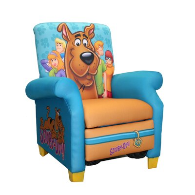 Komfy Kings Scooby Doo Paws Kid's  Recliner Chair