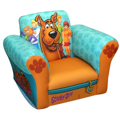 Komfy Kings Scooby Doo Paws Small Standard Kid's  Rocking Chair