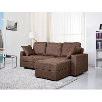 Aspen Convertible Chaise Sectional by Gold Sparrow