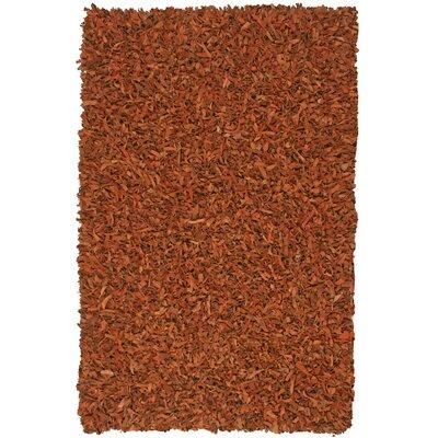 St. Croix Pelle Leather Copper Area Rug