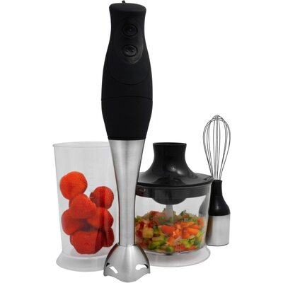 Pure Life 4 Piece 3 in 1 Hand Blender Set by Ragalta