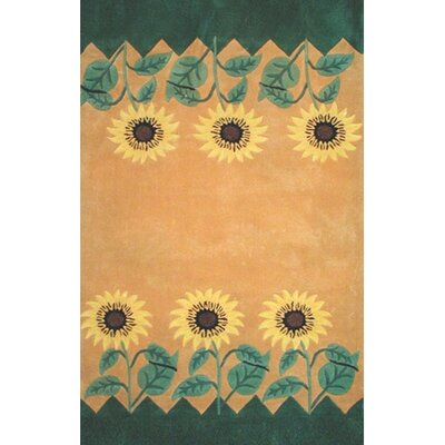 American Home Rug Co. Bright Sunflower Area Rug