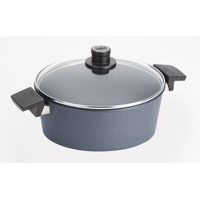 Diamond Plus 5.8-qt Round Casserole with Lid by Woll Cookware