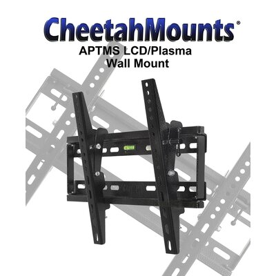 "Cheetah Mounts Tilt Universal Wall Mount for 32"" - 55"" Screens"