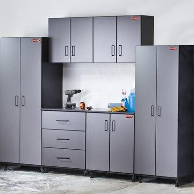Tuff Stor Tuff-Stor Tough Storage 7.5' H x 10' W x 2' D 6 Piece Storage System