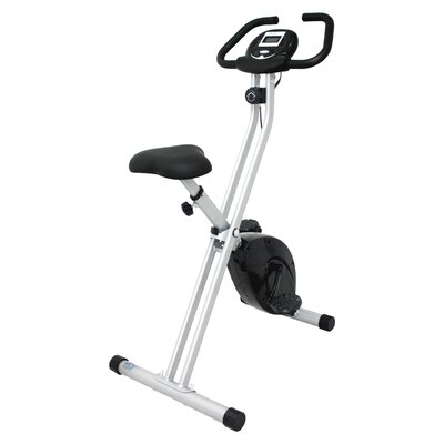 Folding Upright Bike with Calorie Counter by iLIVING