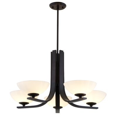 Inception 5 Light Chandelier by DVI