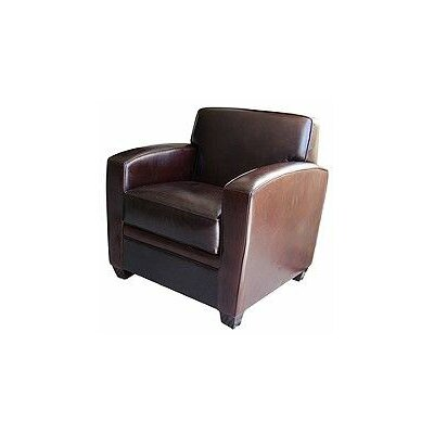 Dexter Top Grain Leather Standard Chair by Elements Fine Home Furnishings