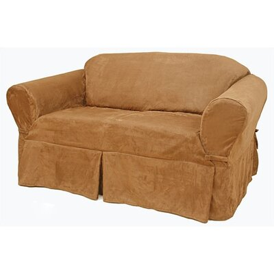 Suede Sofa Slipcover by Easy Fit