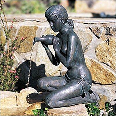 Brass Baron Kneeling Fountain