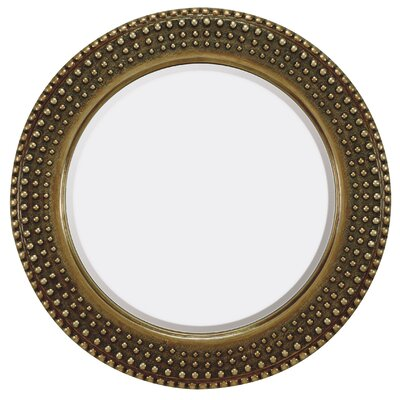 Traditional Round Bevel Mirror by Majestic Mirror
