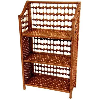 """Oriental Furniture 33.5"""" Standard Bookcase"""