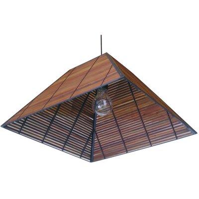 Yamanote Japanese 1 Light Hanging Lantern by Oriental Furniture