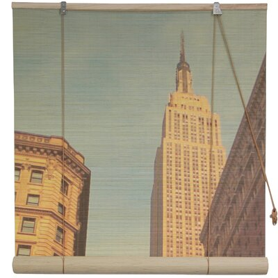Empire State Building Bamboo Roller Blind Product Photo