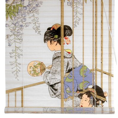 Geisha Shoji Rice Paper Roller Blind Product Photo