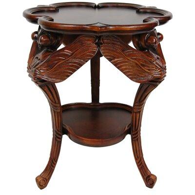 Oriental Furniture European Dragonfly End Table