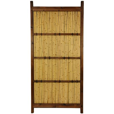 Oriental Furniture Japanese 6' x 3' Kumo Fence