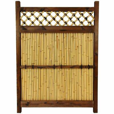 Oriental Furniture Japanese 4' x 3' Zen Garden Fence