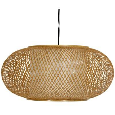 Kata Japanese 1 Light Hanging Lantern by Oriental Furniture