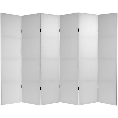 """Oriental Furniture 70.88"""" x 94.5"""" Do It Yourself 6 Panel Room Divider"""
