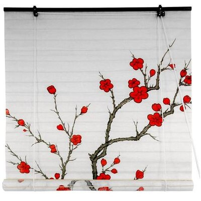 Blossom Shoji Rice Paper Roller Blind Product Photo