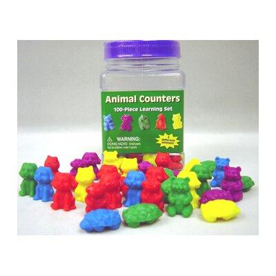 Eureka! Animal Counters Tubbed