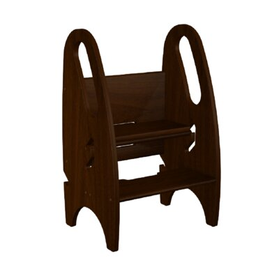 2 Step Wood 3 In 1 Kids Growing Step Stool With 250 Lb