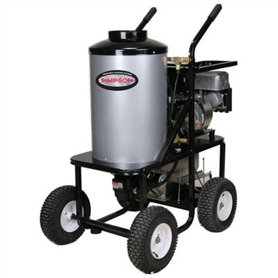 King-Brute 3000 PSI Gas Powered Hot Water Pressure Washer by Simpson