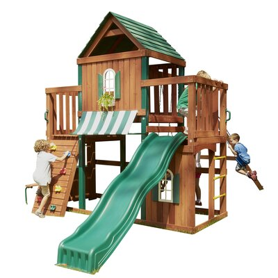 Swing-n-Slide Winchester Wood Complete Swing Set