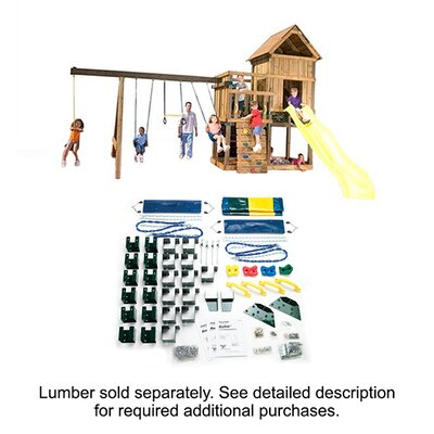Swing-n-Slide Ready to Build Custom Kodiak DIY Swing Set Hardware Kit - Project 513